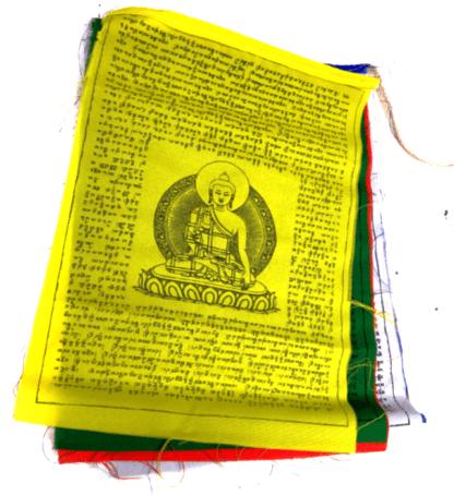 Tibetanske bedeflag i flere størrelser