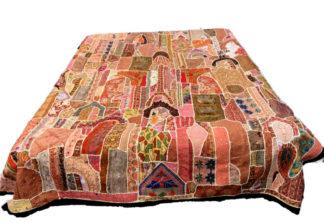 Patchwork sengetæpper