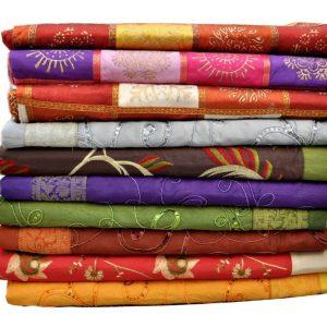 Silke sengetæpper