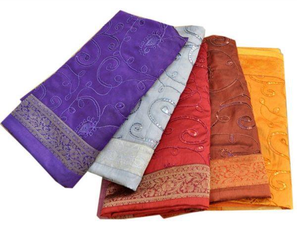 Silke sengetæpper fra Østens Perle