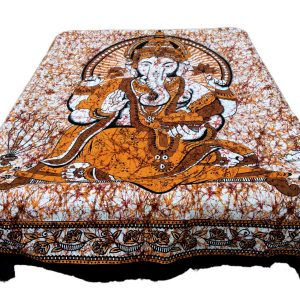 Batik sengetæpper i bomuld
