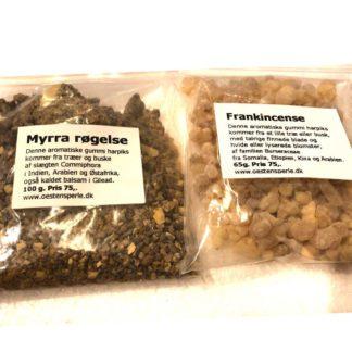 Myrra og frankincense Røgelse