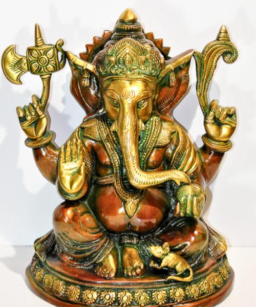 Lykkebringende Ganesha