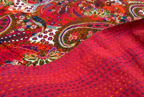 indiske bomulds sengetæpper