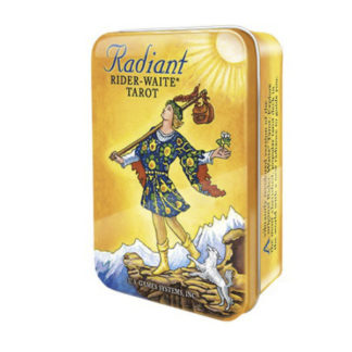 Radiant tarot i tin