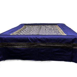 Silke sengetæpper med elefant motiv incl. 4 pudebetræk