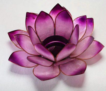 Lotus lysestager chakra