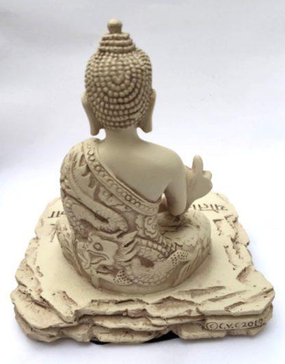 Medicin Buddha med lys