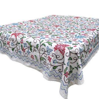 Kashmir sengetæppe