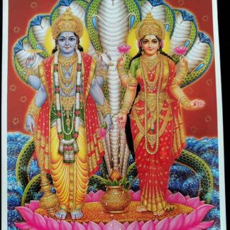 Vishnu Laxmi med glimmer