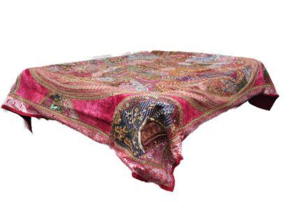 Patchwork sengetæppe sæt med pudebetræk