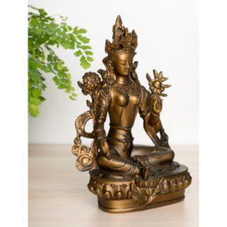 Grøn Tara bronze