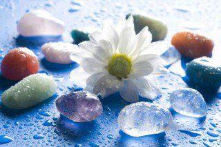 Krystaller og halvædelsten