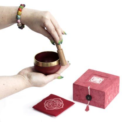 Chakra syngeskål muladhara (rod)
