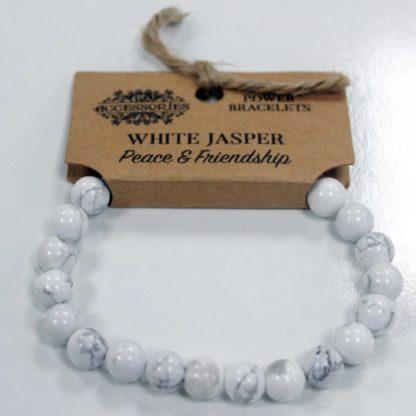 Hvid jasper