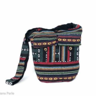 Bomulds taske med lang rem