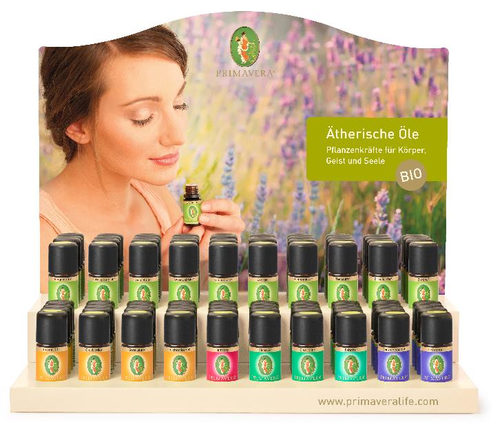 Økologiske æteriske olier