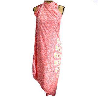 Bali blokprint sarong - mandala