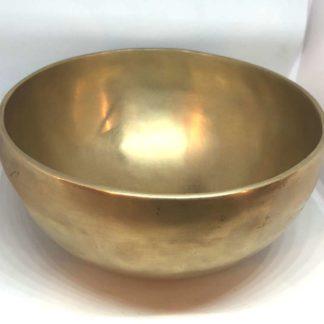 Tibetanske syngeskål 16 cm.