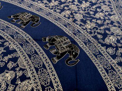Mandala med guldprint i 3 farver