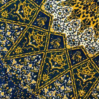 Mandala dug - vægtæppe i bomuld