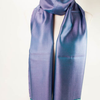 Silke tørklæde vendbare