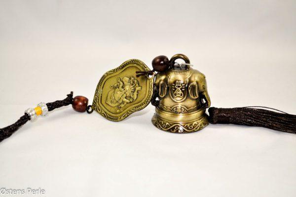 Kinesisk Lykke Feng Shui klokke