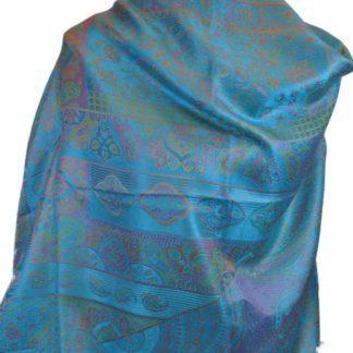 Silke tørklæde lage-håndplukket personligt af os i Indien