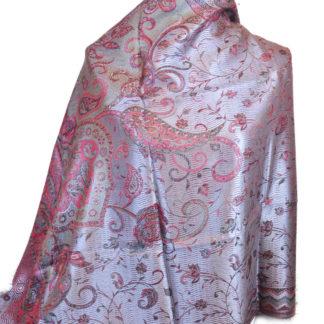 Silke tørklæde large