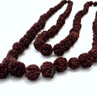 Rudraksha mala 108 perler