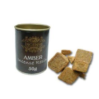 Amber røgelse harpiks