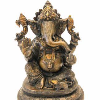 Lykkebringende Ganesha håndlavet