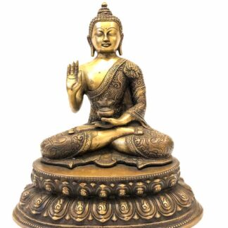 Buddha med løftet højre hånd