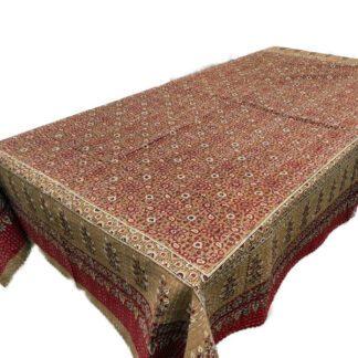 Quiltet sengetæppe til enkeltseng