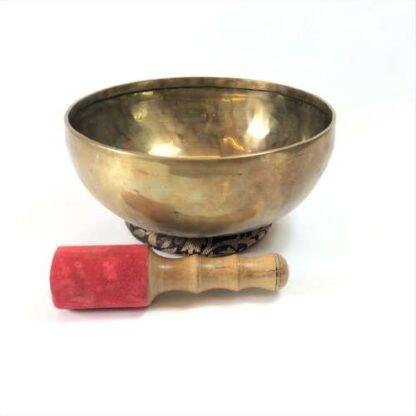 Tibetansk syngeskål af 10 metaller