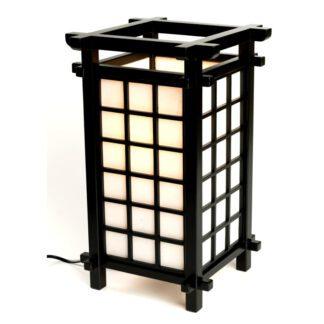 Japansk lampe Ido Black