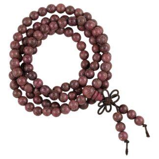 Mala violet træ 108 perler