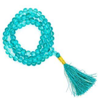 Mala Aqua Aura AA-kvalitet 108 perler
