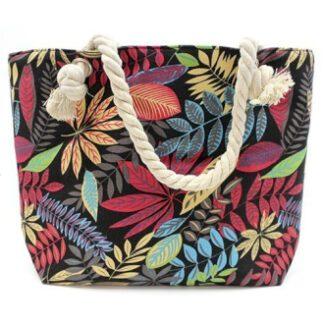 Strandtasker i smukke klare farver.