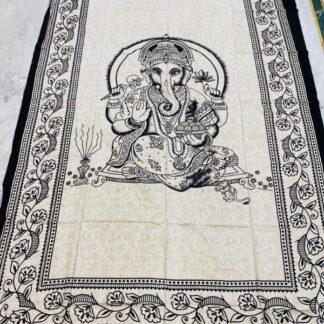 Ganesha vægtæppe i bomuld