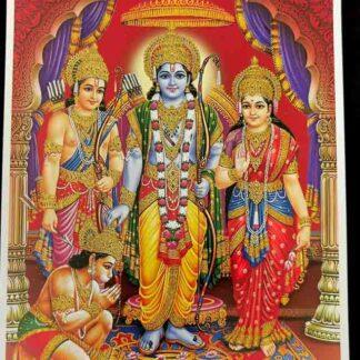 Sita, Rama, Lakshman & Hanuman